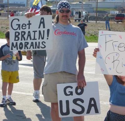 Protestormoron